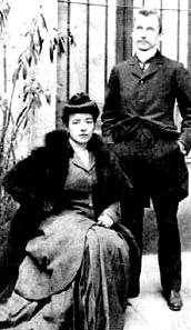 Les époux en 1905