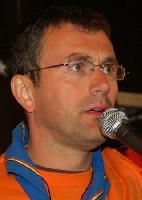 Pierre Scieur lors de la Veillée du Scouting's Sunrise à Ovifat en 2007.