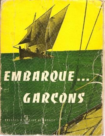 portada libro Embarque... Garçons