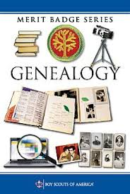 Genealogy Merit Badge Booklet available at Amazon.com