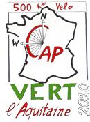 Logo du Rassemblement «Cap vert l'Aquitaine»