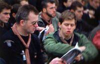 Bertrand Bouchend'homme à Vézelay en 2000 (avec l'aimable autorisation de BBH)