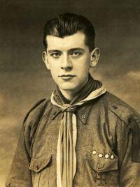 Maurice Turpin en novembre 1924