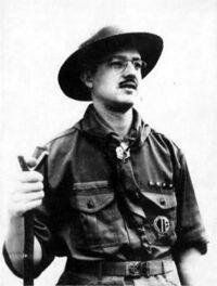 Federico Díaz Legórburu, chef scout du Venezuela