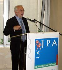 Roland Daval au congrès 2008 de la Jeunesse en plein air