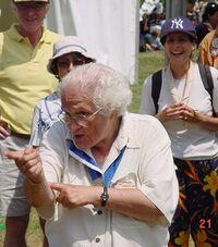 Buisson au 80e anniversaire des EEIF (2003)