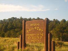 Panneau d'entrée du Ranch