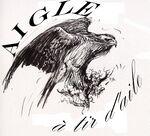 L'Aigle, une des cinq patrouilles de la 1re