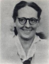 Françoise Pistre dans Les images des SdF (1952)