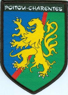 Insigne du Territoire Poitou-Charentes