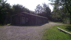 Gruppens hytte, sommer 2014.