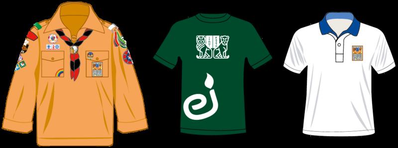 Placement des insignes sur luniforme Scouts Canada