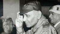 Ali al-Dandachi en Libye en 1971