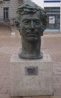 Buste de Hergé à Angoulême