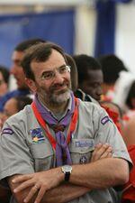 Eduardo Missoni lors du Jamboree du centenaire