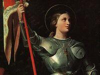 Ste Jeanne d'Arc à Reims par Ingres