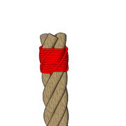 Four strands sailmaker's whipping 6.PNG