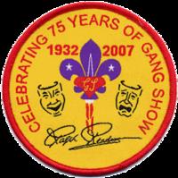 Badge commémoratif des 75 ans
