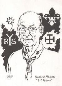 Portrait édité par Claude Marchal en 1991