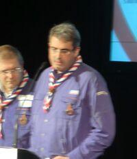 Philippe Bancon, lors de l'assemblée générale des SGDF 2012