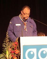 Christian Courties, lors de l'assemblée générale des SGDF en 2012