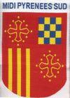Insigne du Territoire Midi Pyrénées sud