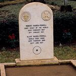 Tombe de Lord et Lady Baden-Powell