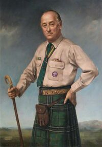Portrait de MacLean réalisé en 1973 pour The Scout Association (©The Scout Association)