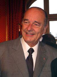Jacques Chirac en 2006