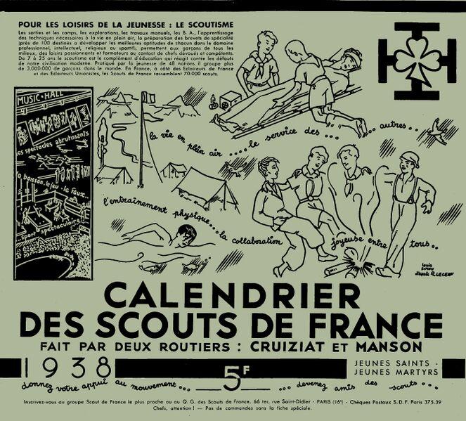 Fichier:Calendrier SDF 1938.jpg
