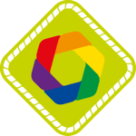 Scouting Nederland LHBT plus badge.png