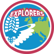 Logo van de Explorers