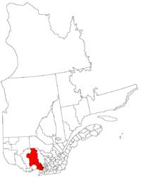 La région des Laurentides dans la province de Québec