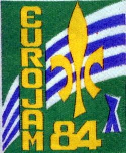 Logo de l'Eurojam 1984