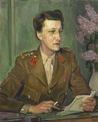 Chief Controller Leslie Violet Lucy Whateley (1943): portrait par le peintre de guerre Henry Lamb