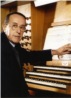 Jacques Berthier aux orgues