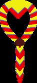 Foulard fond-jaune lisere-bleu bord-rouge2.png