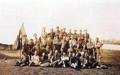 Un des premiers camps de formation en France