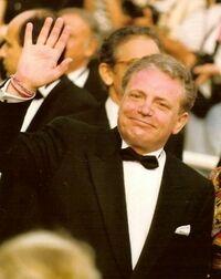 Jacques Martin au Festival de Cannes 1992