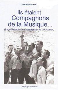Louis Liébard sur la couverture de l'ouvrage de Jean-Jacques Blanc consacré aux compagnons de la musique