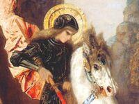 St Georges par Gustave Moreau