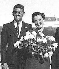 René Tulpin lors de son mariage