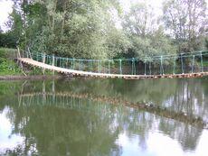 Un pont original à construire