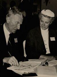 Pierre Deffontaines en 1956