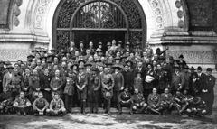 Congrès international de scoutisme à la Sorbonne à Paris