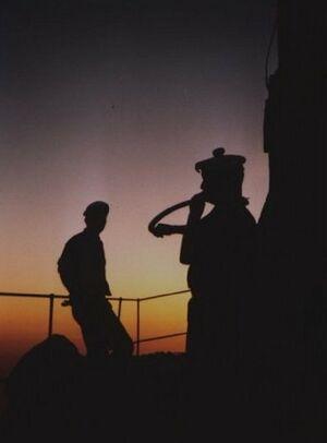 Trompe de chasse Premiere Marine Marseille Sainte Victoire.JPG