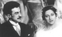 Mariage de Michel et Madeleine Froissart en 1922