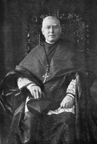 Le cardinal Bourne