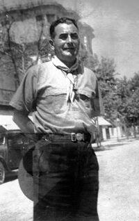 Pierre François en uniforme