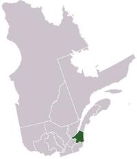 La région de Chaudière-Appalaches dans la province de Québec